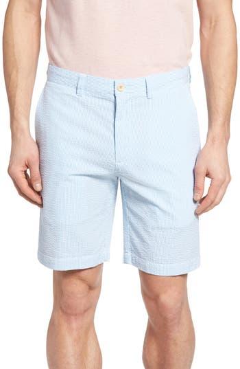 Vineyard Vines 9 Inch Seersucker Shorts, Blue