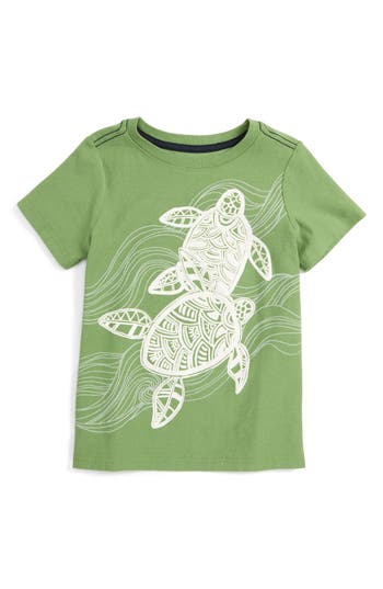 Boy's Tea Collection Batik Turtles T-Shirt