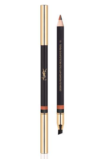 Yves Saint Laurent Dessin Du Regard Blanc Eye Pencil - 10 Orange Graffiti