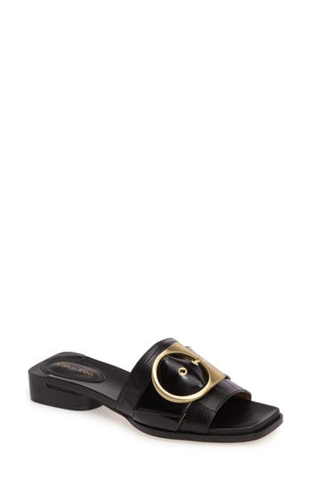 Calvin Klein Anthea Slide Sandal, Black