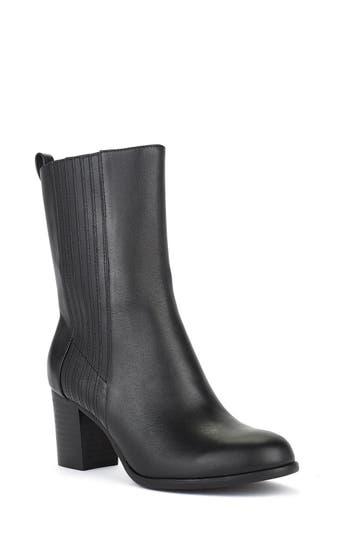 Shoes Of Prey X Eleanor Pendleton Block Heel Bootie
