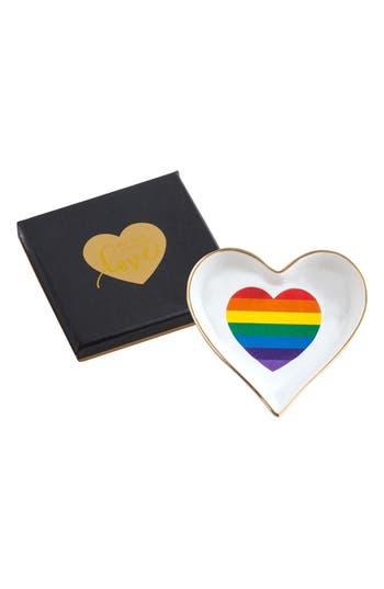 Rosanna Rainbow Heart Trinket Tray