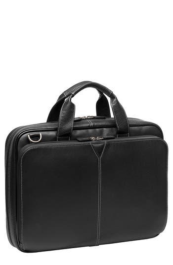 Johnston & Murphy Leather Briefcase -