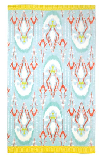 John Robshaw Vaya Resort Towel, Size One Size - Blue/green