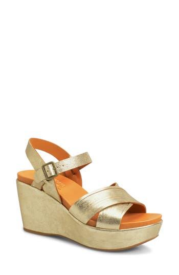 Kork-Ease Adelphi Sandal, Metallic