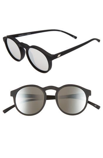 Le Specs Cubanos 47Mm Round Sunglasses -