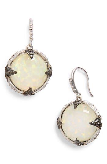 Women's Armenta New World Opal & Diamond Drop Earrings
