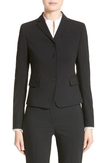 Women's Akris Punto Fitted Wool Jacket