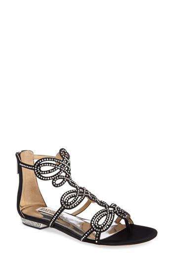 Badgley Mischka Tempe Embellished Sandal