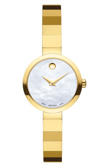 Women's Movado Novella Bangle Watch, 24Mm
