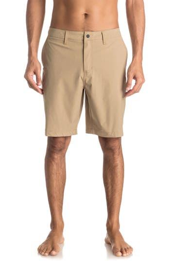 Quiksilver Vagabond Amphibian Board Shorts, Beige