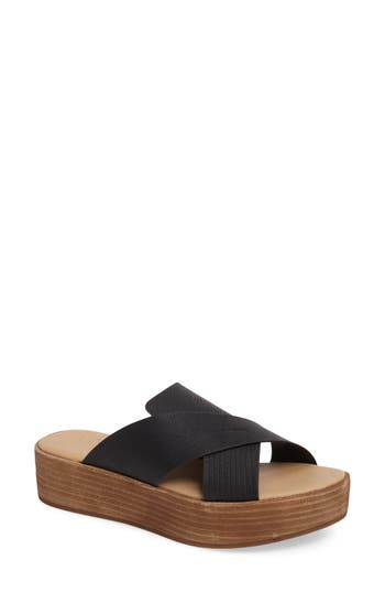 Coconuts By Matisse Masters Cross Strap Platform Sandal