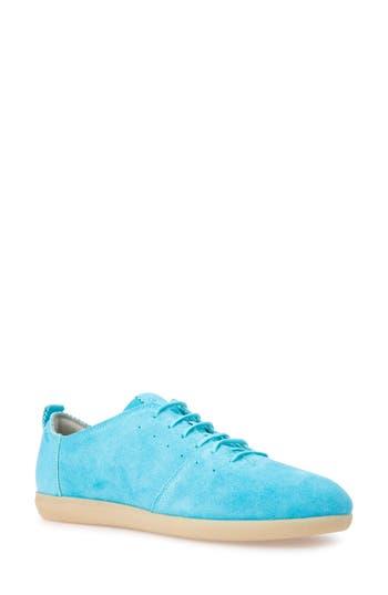 Geox New Do Sneaker, Blue/green