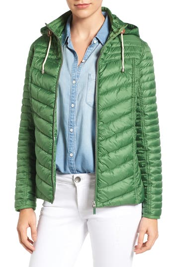 Women's Barbour Headland Quilted Hooded Jacket