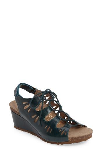 Women's Aetrex Giselle Slingback Wedge Sandal