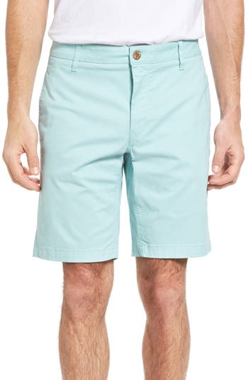 Tailor Vintage Stretch Twill Walking Shorts, Blue
