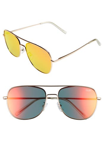 b6a554fb9ac0d EAN 9343963005080 product image for Women s Quay Australia  Running Riot   58Mm Aviator Sunglasses ...