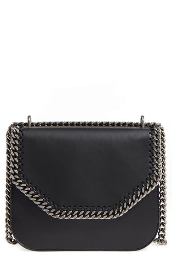 Stella Mccartney Falabella Box Faux Leather Crossbody Bag -