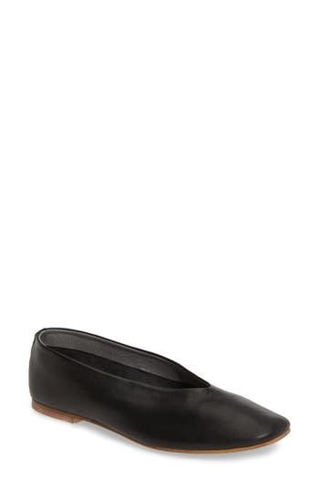 Topshop Kick Ballet Flat - Black
