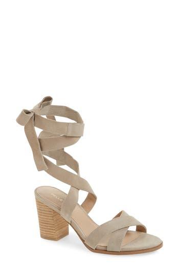 Women's Pelle Moda Bonjour Ankle Wrap Sandal