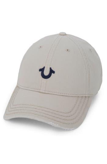 True Religion Brand Jeans Baseball Cap - Beige