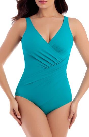 Women's Miraclesuit Must Haves Oceanus One-Piece Swimsuit