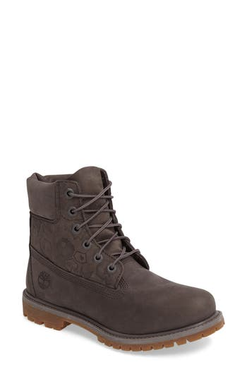 Timberland 6-Inch Premium Embossed Waterproof Boot