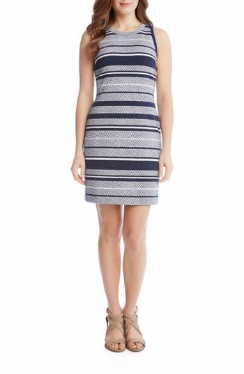Karen Kane Stripe Jacquard Sheath Dress