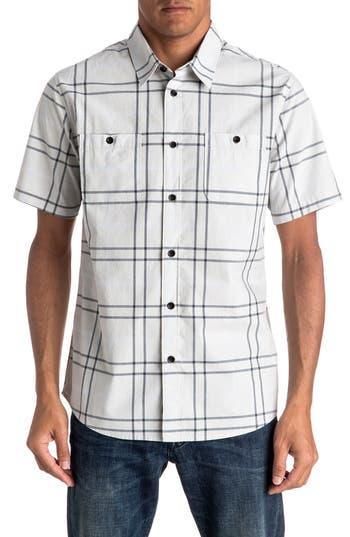Men's Quiksilver Grandview Short Sleeve Sport Shirt