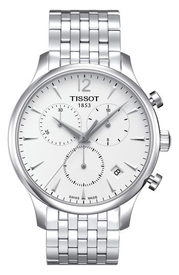 Tissot Tradition Chronograph Bracelet Watch, 42Mm