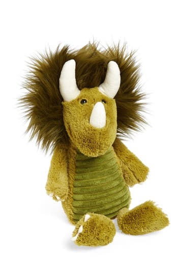 Infant Jellycat Snaggle Baggle - Dennis Dino Stuffed Animal