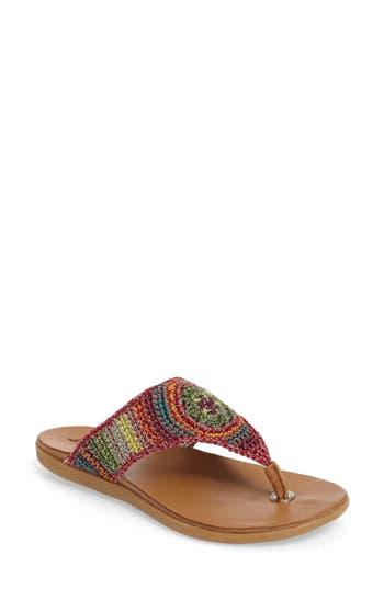 Sakroots Sarria Flip Flop, Ivory