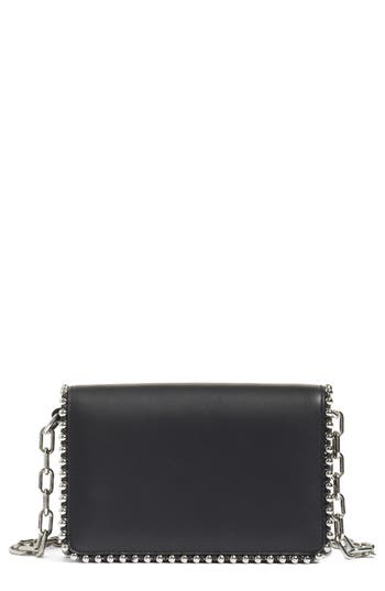 Alexander Wang Biker Studded Leather Crossbody Bag -