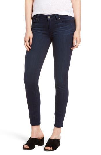 Paige Verdugo Ankle Skinny Jeans, Blue