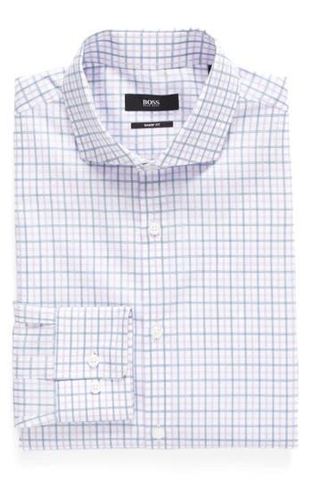 Men's Boss Sharp Fit Check Dress Shirt