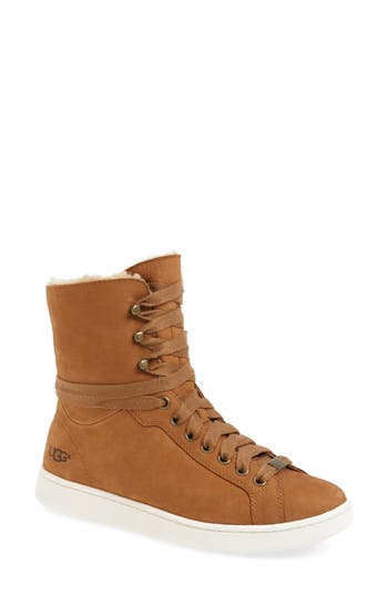 UGG® Starlyn Genuine Shearling Lined Boot
