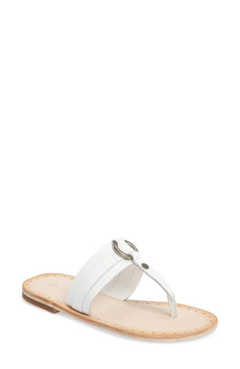 Frye Avery Harness Sandal, White