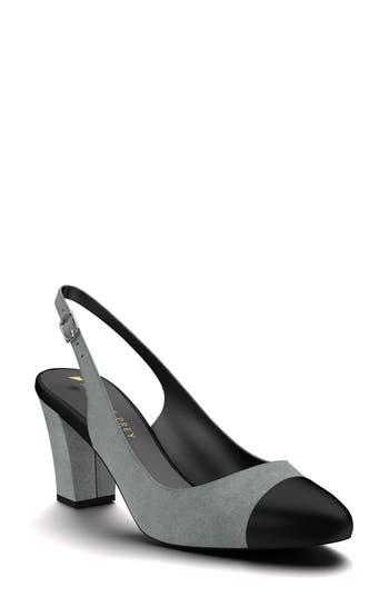 Shoes Of Prey Slingback Pump - Grey