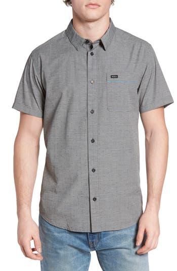 Men's Rvca Star Star Slim-Fit Woven Shirt