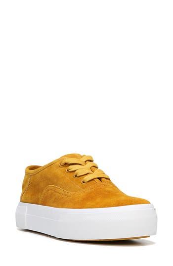 Women's Vince Copley Platform Sneaker, Size 6 M - Yellow