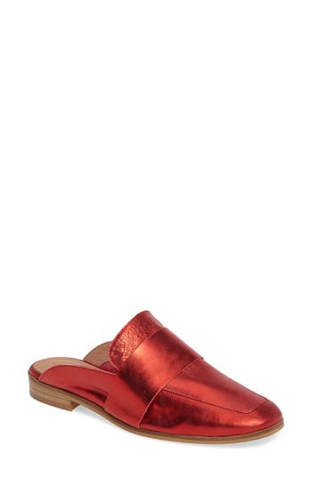 Free People At Ease Loafer Mule, Red