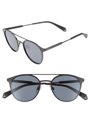 Polaroid Eyewear 51Mm Polarized Sunglasses - Black/ Grey