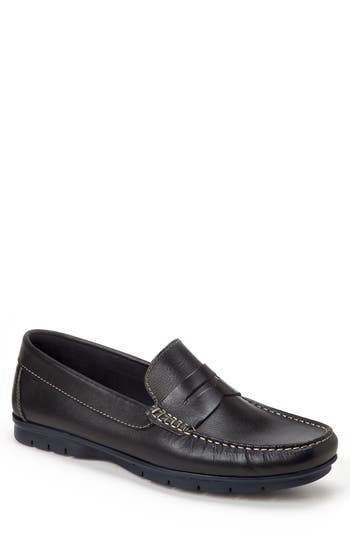 Sandro Moscoloni Paco Penny Loafer - Black
