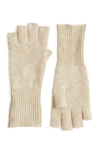 Women's Halogen Cashmere Fingerless Gloves