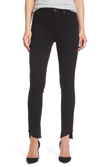 Paige Transcend Hoxton High Waist Undone Hem Skinny Jeans