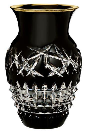 Waterford Fleurology Jeff Leatham Cleo Black Urn Vase, Size One Size - Black