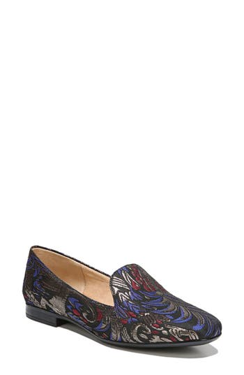 Naturalizer Emiline Flat Loafer N - Black
