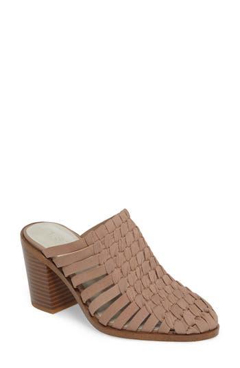 Women's 1.state Licha Woven Block Heel Mule, Size 5 M - Grey