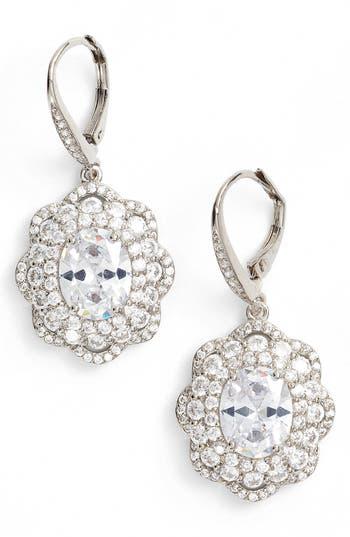 Women's Nina Vintage Drop Crystal Earrings