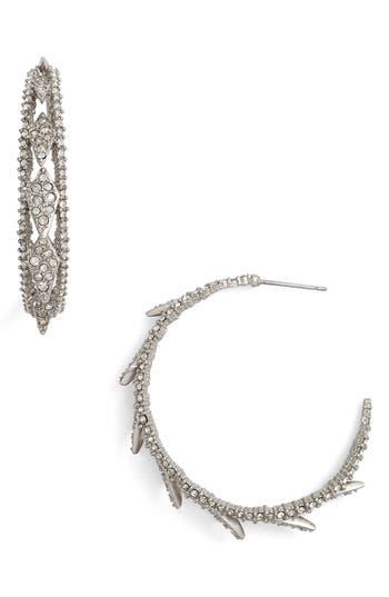 Women's Alexis Bittar Crystal Encrusted Hook Earrings